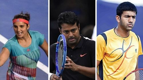 Sania Mirza, Rohan Bopanna Hit Back at Leander Paes Over Selection Comments - http://www.tsmplug.com/tennis/55902/