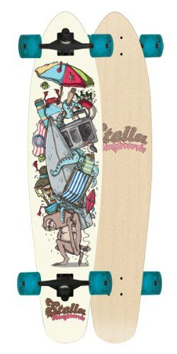 Sloth Kicktail Stella Complete Longboard Skateboard Sale - http://kcmquickreport.com/sloth-kicktail-stella-complete-longboard-skateboard-sale/