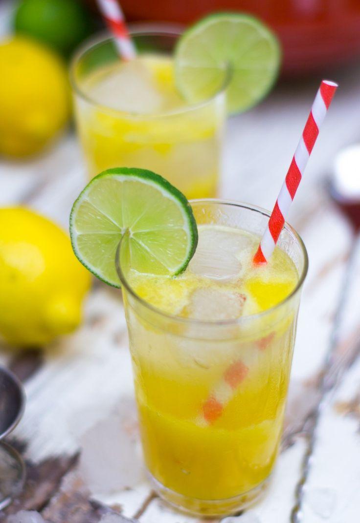 Boozy Mango Lemonade