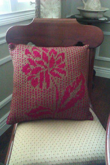 Ravelry: kubasmom's Fair Isle Pillow