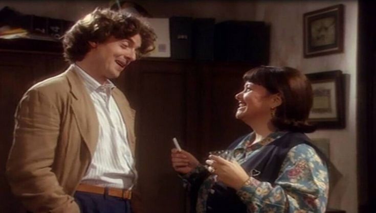 (BBC) Before They Were Famous: The Sitcom Appearance: Peter Capaldi in 'The Vicar Of Dibley' (1994) Long before calling the Tardis home, Peter made a brief stop-off in Dibley, where vicar Geraldine soon fell in love with him.