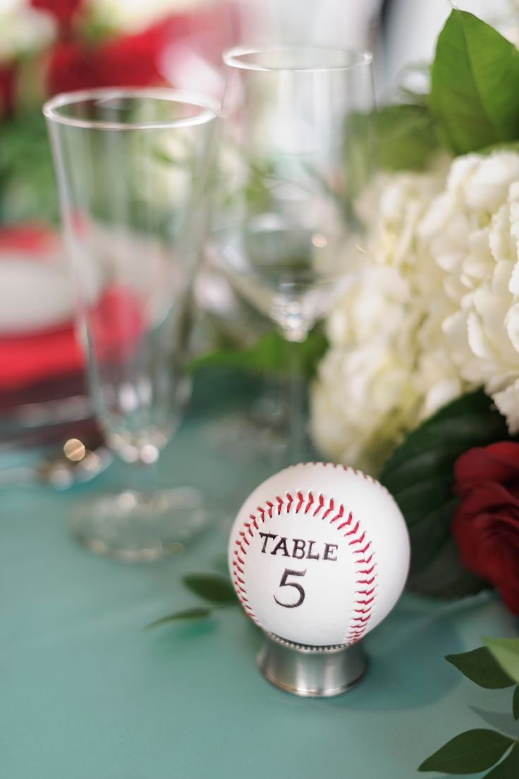 Table numbers were a simple baseball.