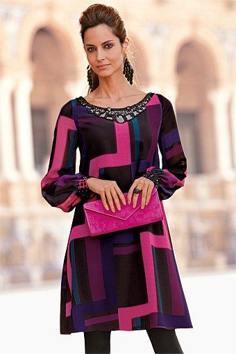 Dresses | Buy Women's Dresses Online - Together Printed Tunic