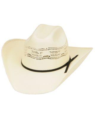 Cavenders Bangora Straw Children's Cowboy Hat