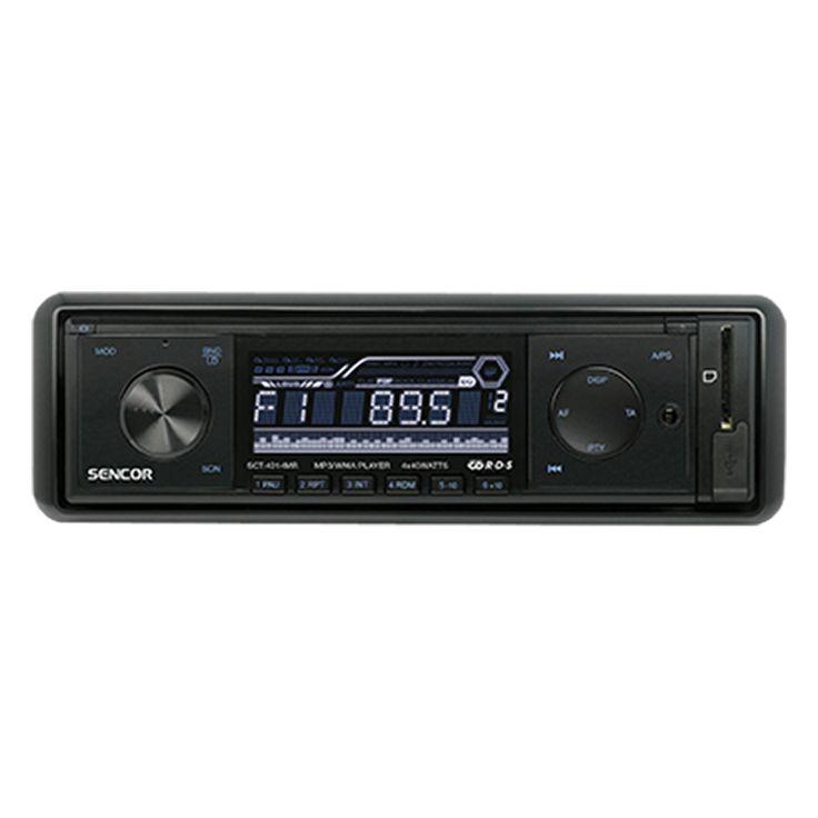 SCT 4014MR - Car Radio with USB/SD/MMC