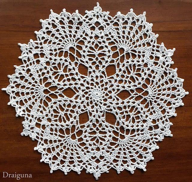 Mejores 364 imágenes de 6E. DOILIES TO MAKE en Pinterest | Crochet ...