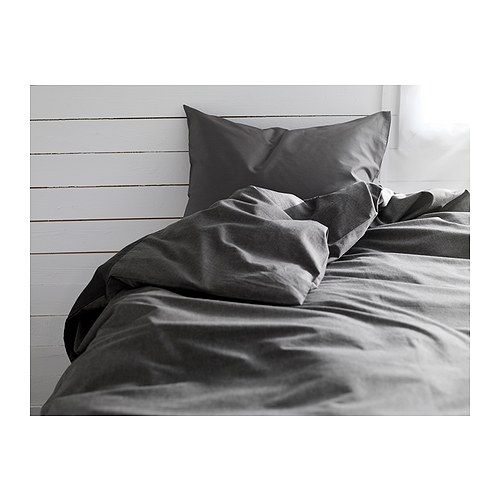 GÄSPA Duvet cover and pillowcase(s) IKEA The combed cotton gives the bed linen an extra smooth and even surface which feels soft against your skin.