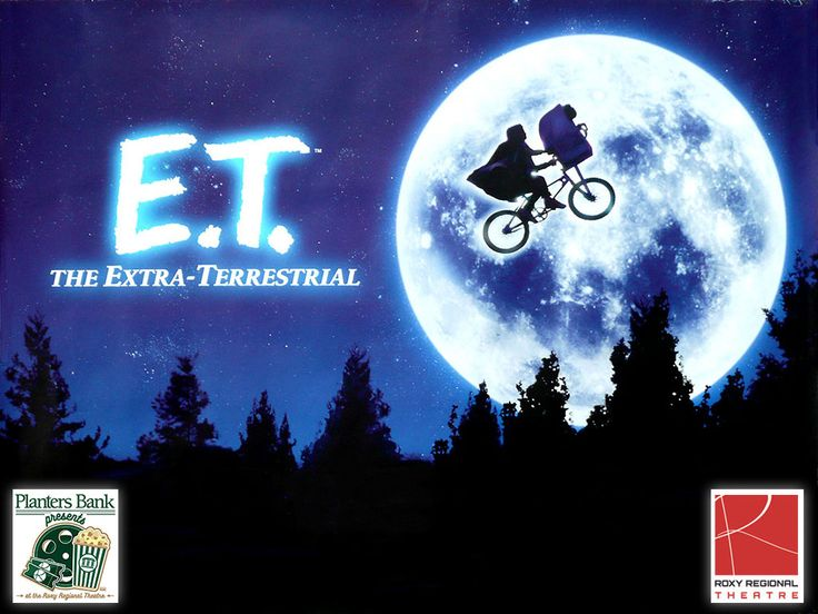 "Planters Bank Presents to show ""E.T. the Extra Terrestrial"" at Roxy Regional Theatre, Sunday"