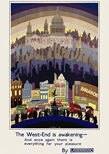 The West End is Awakening go by Underground 1931 vintage ... https://www.amazon.co.uk/dp/B00TR1BZFW/ref=cm_sw_r_pi_dp_x_XE1EybKSRE9WV
