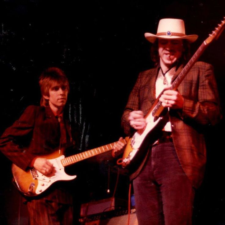 Eric Johnson and Stevie Ray Vaughan