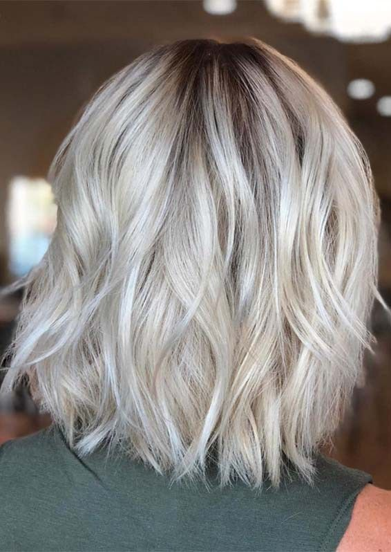 Stylish Blonde Hair Color Ideas For Short To Medium Length