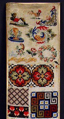 19th Century Berlin WoolWork Sampler