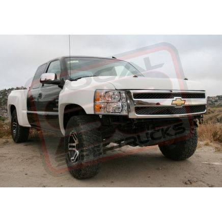 1999-2006 To 2007 Silverado 3-Piece Fiberglass Front End Conversion
