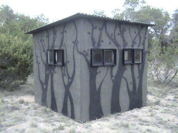 Cool Paint Job On Your Box Blind 2coolfishing Jakt