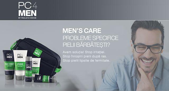 pc4men - noua gama de produse cosmetice pentru barbati #pc4men