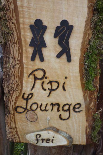 wooden, Holz, Schild, kreativ,  WC Schild ♥ Holz von Holz- Kreativ auf DaWanda.com