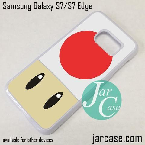 Mario The Mushroom Phone Case for Samsung Galaxy S7 & S7 Edge
