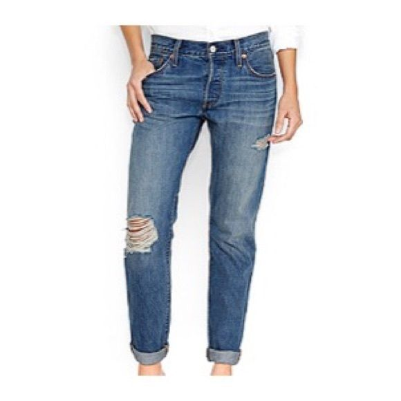 FLASH SALE NWT Levi's 501s NWT Levi's 501s. Other sizes available. *First photo shows actual style that is for sale!* Last photo is mine. Levi's Jeans Boyfriend