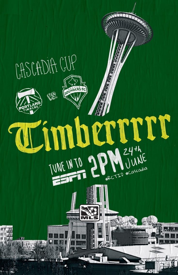 ESPN talking up the Cascadia Cup; Are you ready?   Portland TimbersCups Flyers, Cascadia Cups, Portland Timber, Mls Future, Soccer