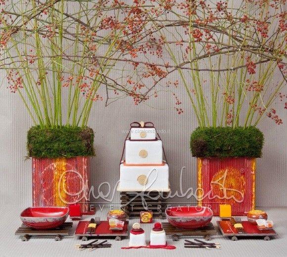 Idee per Natale. Una tavola natalizia dal sapore etnico | Cira Lombardo Wedding Planner