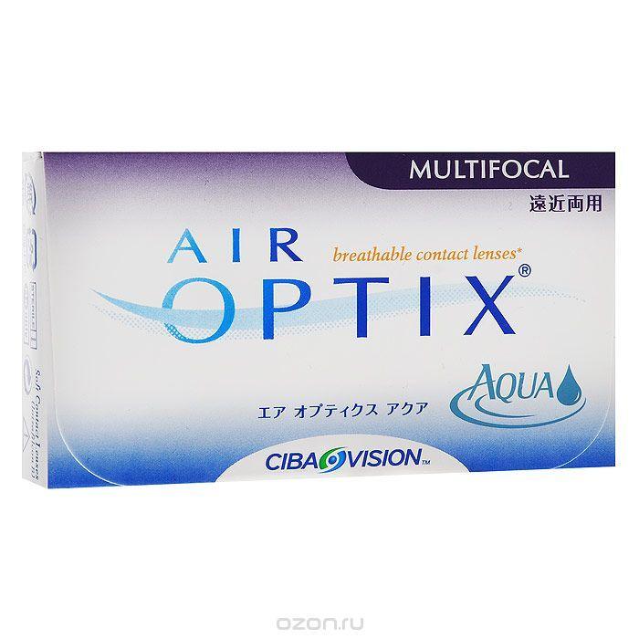 CIBA контактные линзы Air Optix Aqua Multifocal (3шт / 8.6 / 14.2 / -1.50 / Low)