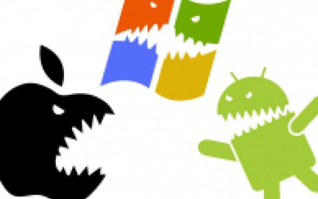 I sistemi operativi per smartphone piu` diffusi, ecco i dati #ios #windowsphone #android