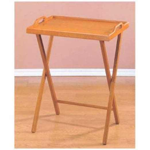 Home Decor NEW Wood Stand Folding Bed Tv Tea Coffee Breakfast Dinner Tray Table #EssentialHome #Traditional