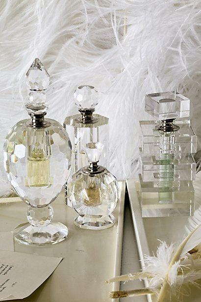 gorgeous crystal perfume bottles