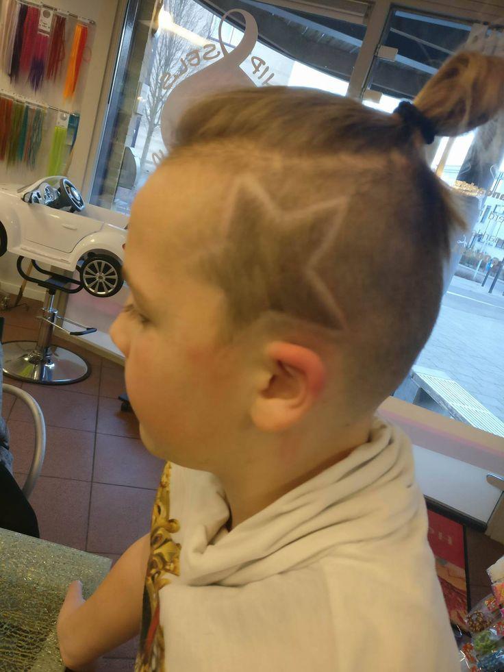 Jongens knot met ster #knipselsenkapsles