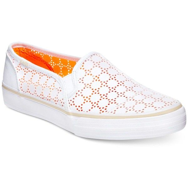 womens keds slip on ins in white