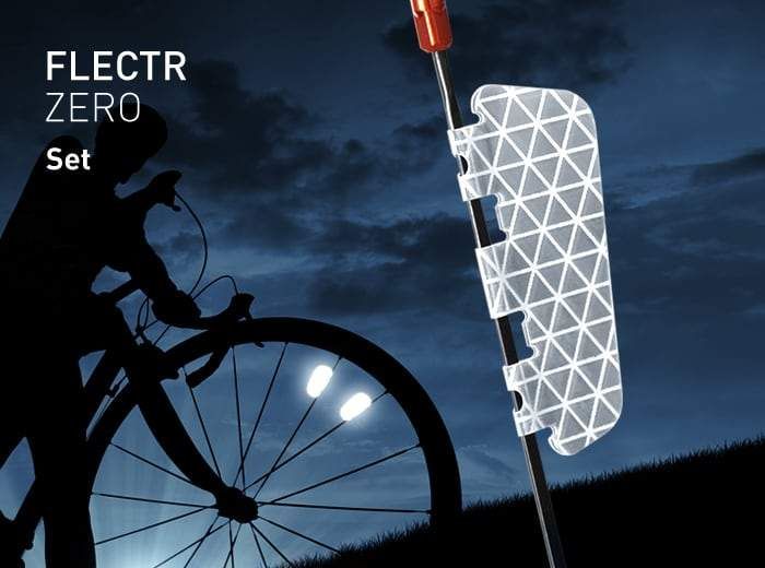 Flectr Zero Wheel Reflectors For Your Bike All Available Sets