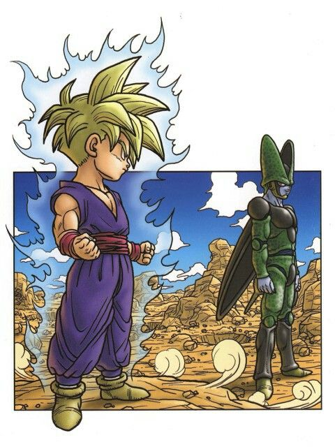 Gohan step up the fight!