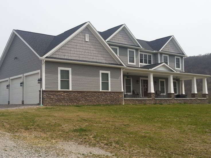 Variform Siding And Plygem Stone Installed By Trademark