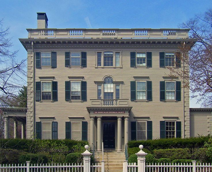 The Nelson W Aldrich House Tobey Is A Federal Style Museum In Providence Rhode Island