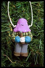 Mummer hanging ornament
