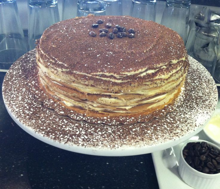 Daphne Made Her Own Birthday Cake Too: 17 Best Images About Crepe Cake Tiramisu On Pinterest