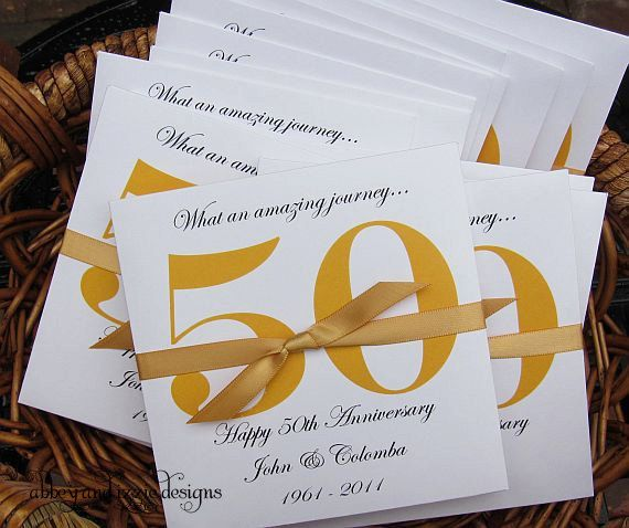 50th Anniversary Favors by abbeyandizziedesigns on Etsy, $56.70