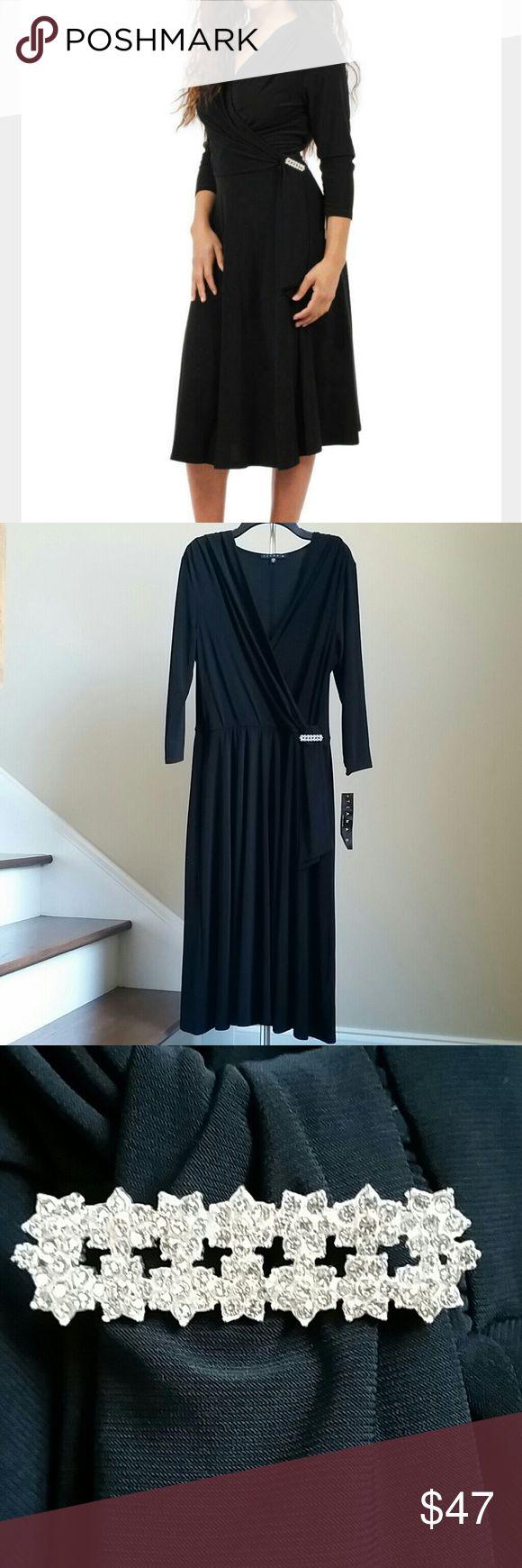 🆕30% OFF BUNDLES 🎉 TIANA B. DRESS Beautiful 3/4 sleeve jersey dress from Tiana B. 95% Polyester, 5% Spandex. Tiana B. Dresses