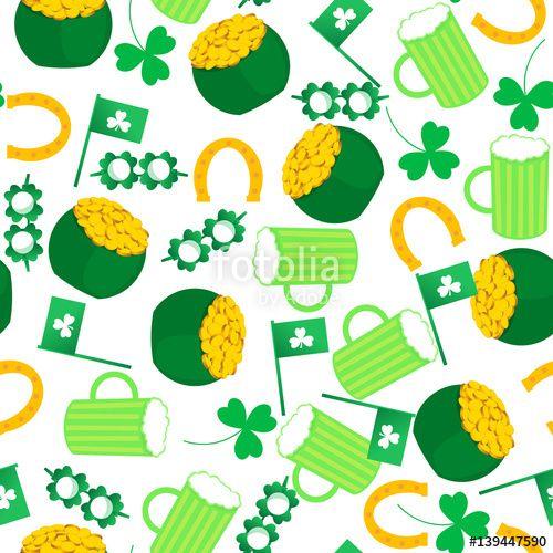Вектор: St.Patrick 's Day