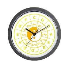 yin yang circle of 5th Wall Clock for