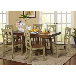 Shop For Simple Living Harold Farmhouse Wood Dining Set Get Free Shipping At Overstock Furniture OutletOnline
