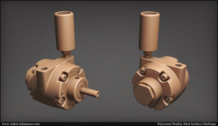 .-| Week 8 - The Weekly Hard Surface Challenge |-. - Page 11 - Polycount Forum