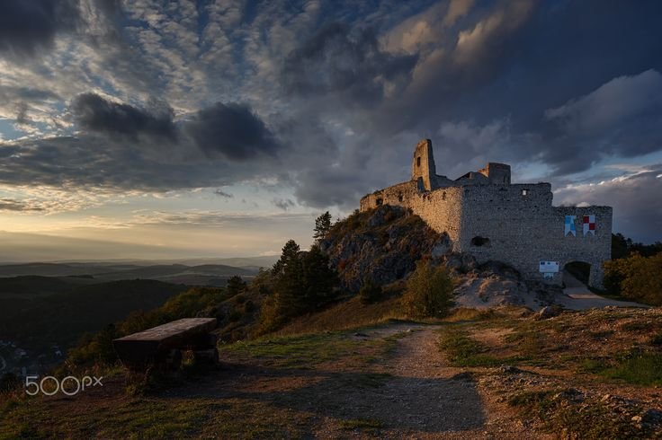 "Sunset at Bathory castle - Waiting for sunset in july at one of my favorites castle....  Follow me on <a href=""https://www.facebook.com/lubosbalazovic.sk"">FACEBOOK</a> or <a href=""https://www.instagram.com/balazovic.lubos"">INSTAGRAM</a>"