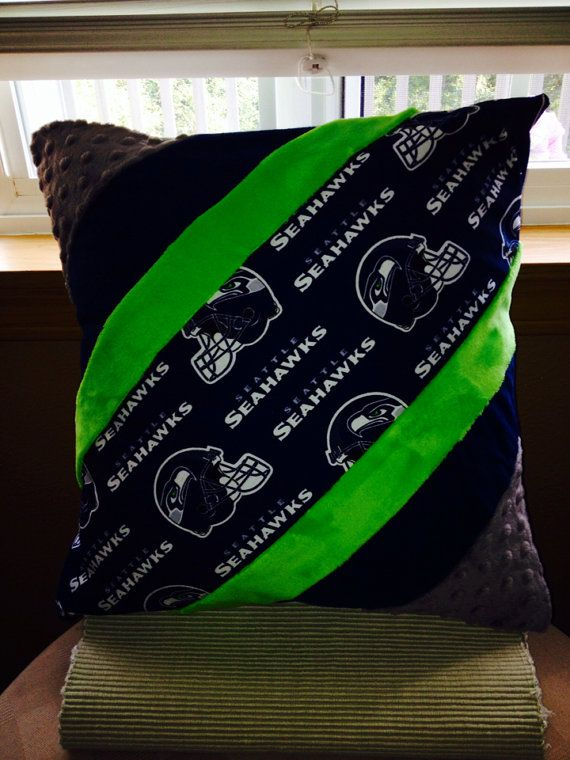 Seattle Seahawks custom design pillow cover