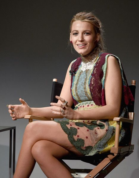 Blake Lively Photos - Apple Store Soho Presents Meet The Filmmaker: Blake Lively, 'Age of Adaline' - Zimbio