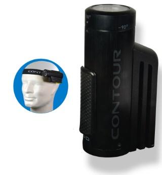 Contour ContourRoam (€199)  Net als de GoPro kun je beelden, eenmaal geschoten, niet meteen terugkijken. De camera is zo gemaakt om zo min mogelijk in de weg te zitten en past met de meegeleverde hoofdband gemakkelijk op de zijkant van je hoofd.De ContourRoam heeft een lens die je handmatig kan draaien van -90 naar een groothoeklens van +170 graden. De beeldkwaliteit is bijzonder, maar het geluid slecht. Let op: de camera maakt gebruik van microSD-opslaggeheugen.