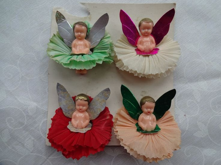 135 Best Images About Vintage Christmas Fairy Dolls On