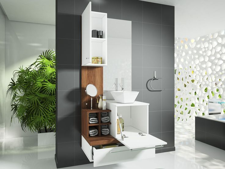 Gabinete para Banheiro com Espelho 2 Portas 1 Gaveta  Celta Móveis Ravenna  -> Cuba Para Banheiro Em Formato Ovalado