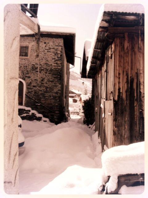 Authentic Villarabout, ancient Savoie hamlet