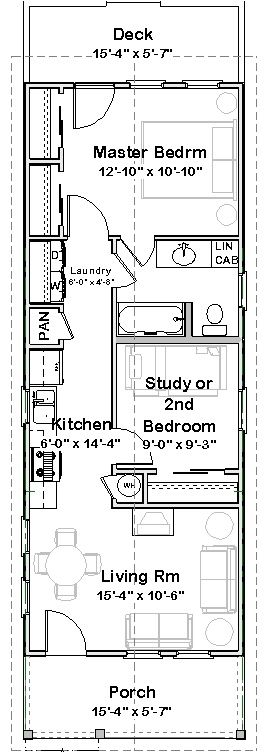 Best 25+ Narrow house plans ideas that you will like on Pinterest ...